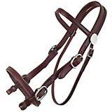 Tucker Plantation Headstall w/Chrome