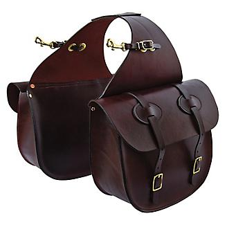 Tucker Traditional Saddle Bags w/Brass
