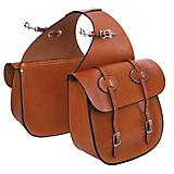 Tucker Traditional Saddle Bags w/Chrome