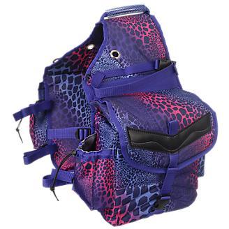 Tough-1 Printed Insulated Nylon Saddle Bag