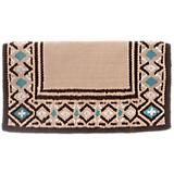 Tough-1 Diamond Print Wool Saddle Blanket