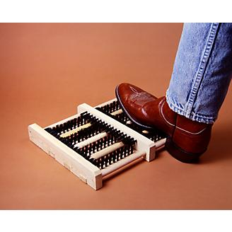 Hands Free Boot Brush Cleaner