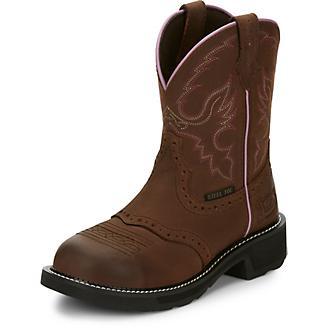 Justin Ladies Gypsy Wanette Steel Toe Work Boots