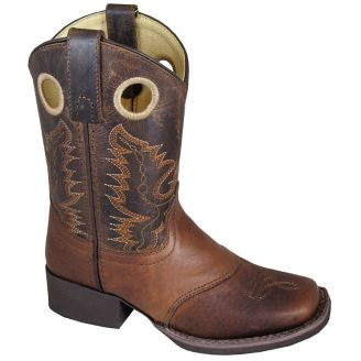 0f21a9a5ae4 Smoky Mountain Kids Luke Square Toe Boots 1 - Statelinetack.com