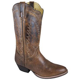 Smoky Mtn Ladies Amelia Rnd Toe Brown Boots