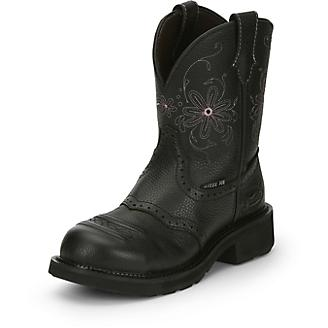 Justin Ladies Wanette WP Steel Boots