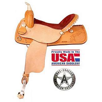 American Saddlery TS More Fast Barrel Saddle