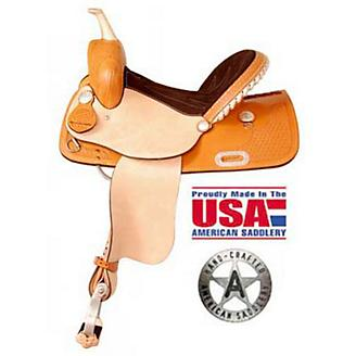 American Saddlery Pro R Fast Barrel Saddle