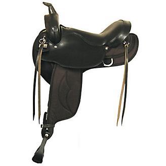 Big Horn Gaited Flex Trail Saddle 16in - Statelinetack com