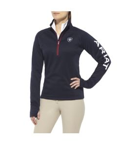 Ariat Tek Team 1/4 Zip Ladies Shirt