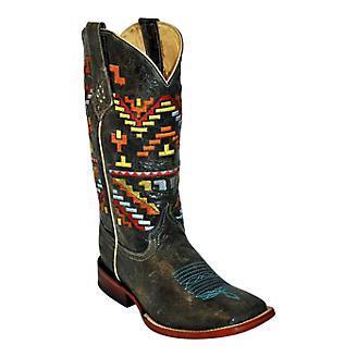 Ferrini Ladies Aztec Cowgirl Square Toe Boots