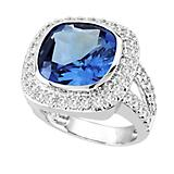 Kelly Herd Ladies Blue Ring