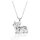 Kelly Herd Small Corgi Necklace