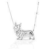 Kelly Herd Large Corgi Necklace