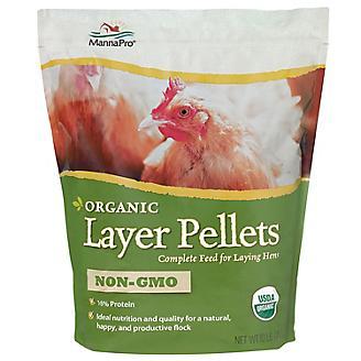 Manna Pro Organic Layer Pellets Hen Feed