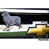 Grillie Collie Car and Truck Grille Ornament