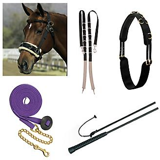 Side Reins | Leather Side Reins & More - Statelinetack com