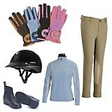 English Casual 5 Piece Childrens Riding Bundle