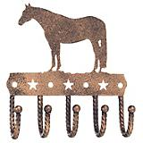 Tough-1 Key Rack with Equine Motif