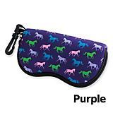Tek Trek Horse Print Eyeglass Case w/Zipper