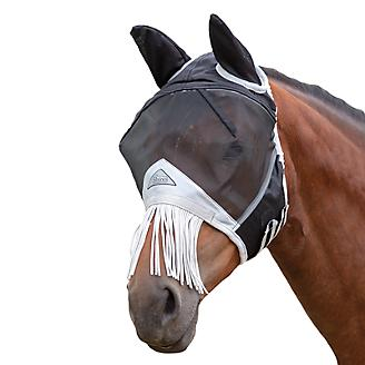 Fine Mesh Fly Mask with Fringe Ears