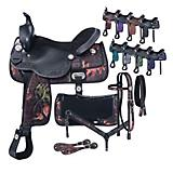 Tough1 Eclipse Pro Trail Saddle Fun Print Packge