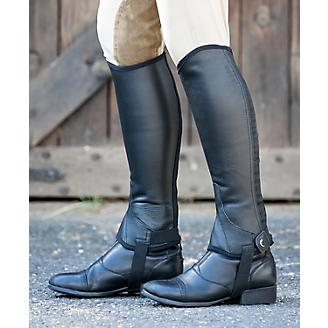 Dublin Flexi Leather II Half Chaps