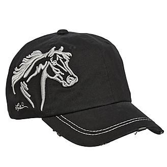 Horse Head Raised Embroidery Hat