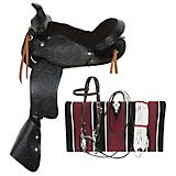 King Series Mighty Rider Pony Saddle Package