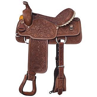 Silver Royal Maverick Calf Roper Saddle