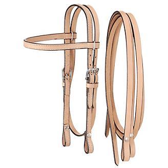 King Series Miniature Browband Headstall w/Reins