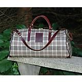 Baker Duffle Bag Plaid