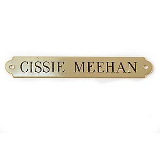 Personalized Saddle Plate