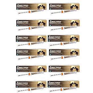 Zimecterin Gold Paste Wormer 12-Pack