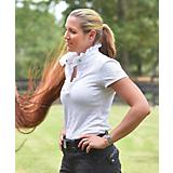 FITS Ladies Ruffles Show Shirt