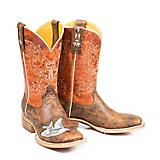 Tin Haul Ladies INKD Square Toe Boots