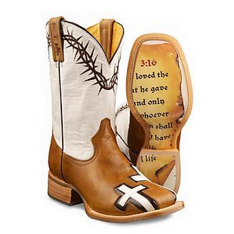 Tin Haul Mens Between 2 Theives Sq Toe Boot