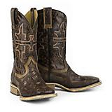 Tin Haul Mens Stag Square Toe Boots