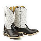 Tin Haul Mens Cowboy Way Square Toe Boots