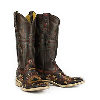 Tin Haul Ladies South By SW Square Toe Boots