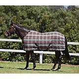 Saxon Stable Stand Med Blanket 78 Chocolate/Mint
