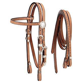 Tough-1 Mini Roughout Headstall with Reins