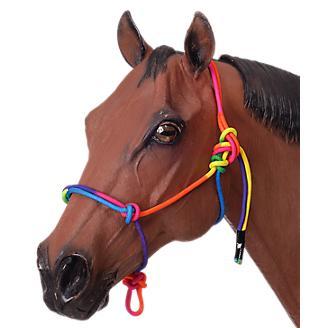 Tough-1 Mini Rainbow Rope Halter