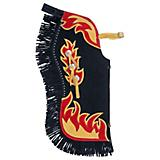 Tough-1 Premium Youth Chaps w/Horse and Flame