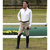Huntley Ladies Beige Knee Patch Riding Pant