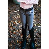 Huntley Childs Grey Pony Stitched Riding Pant