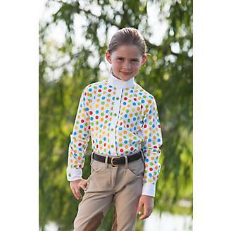 Huntley Childs Polka Dot Riding Shirt