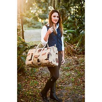 Huntley Equestrian Tapestry Duffle Bag