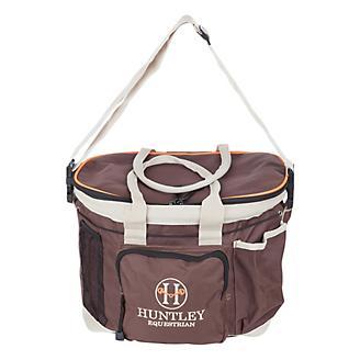 Huntley Equestrian Brown Grooming Bag