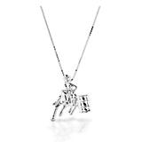 Kelly Herd Barrel Racer Pendant Small